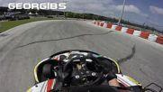 Бързо картинг състезание писта Виница