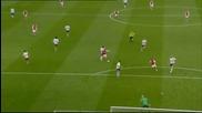 ВИДЕО: Всичко от страхотната първа част на Арсенал - Астън Вила