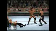 wwe smackdown vs raw 2009 ps2 triple h vs edge and mr.kenedy