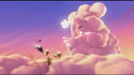 Partly Cloudy - Откъде идват бебетата + субтитри