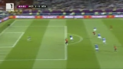 ! Испания 4:0 Италия | Финал на Евро 2012 |