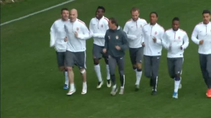 Монако на Бербатов в пълна бойна готовност за Арсенал