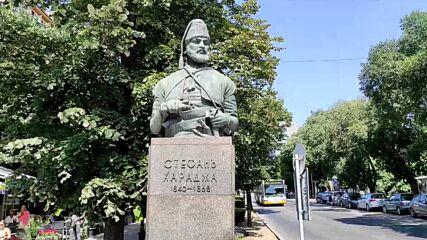 Паметникът на Стефан Караджа във Варна