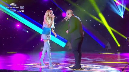 Теди Александрова ft Jamaikata - Kiss Me, Baby - 12 годишни музикални награди на Планета Тв