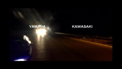 Kawasaki Zzr1100 vs Yamaha R6