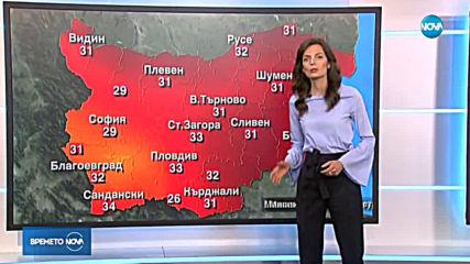 Прогноза за времето (20.06.2019 - обедна емисия)