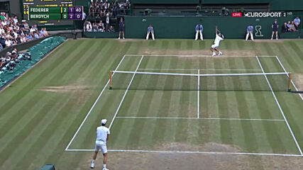 Roger Federer vs Tomas Berdych Wimbledon 2017 highlights