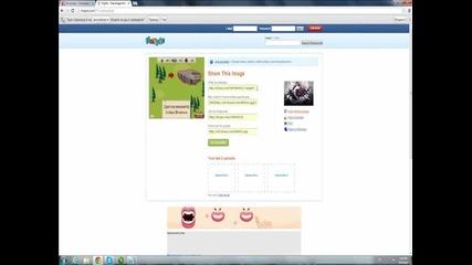 Как да си сложите снимка в описанието на vbox7.com