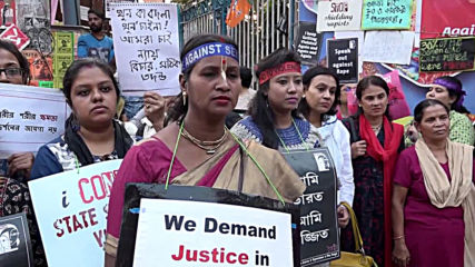 India: Kolkata protesters demand justice following deadly rape cases