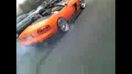 Dodge Viper 900 hp Crazy burnout