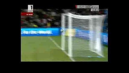 Сащ 1 - 1 Италия Rossi