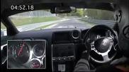 Nissan Gt - R 2009 7.26.7 lap around Nordsleife