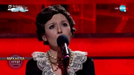"Михаела Маринова като Райна Кабаиванска - ""Tosca"" | Като две капки вода"