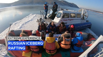 Bucket list opportunity: Siberian ice rafting is 100% unique