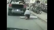Да заблудиш полицията в Китай при паркиране!