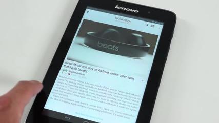 Симпатичен, практичен и на достъпна цена - Lenovo Tab A7 - видео ревю от news.tablet.bg
