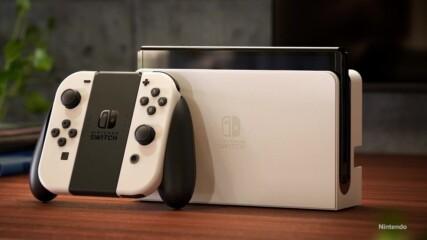Nintendo представя нов Switch