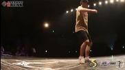 Ducky vs Beast Toprock Battle Final Juste Debout 2013 Korea breakdance hip hop power move