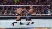 Wwe Wrestlemania 28 Hight Quality 11/12 The Rock Vs John Cena