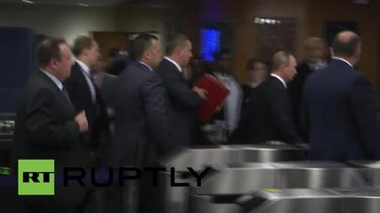 UN: Putin arrives at UN HQ ahead of UNGA address