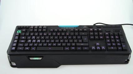 Геймърска клавиатура - Logitech G902 Orion Spark