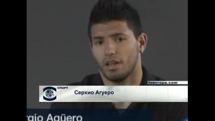 """Агуеро иска да остане в """"Атлетико"""" възможно най-дълго"""