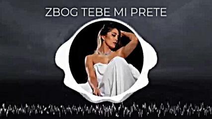 Milena Ceranic - Zbog Tebe Mi Prete Official Audio