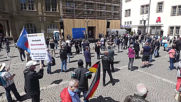 Germany: AfD supporters rally against COVID-19 restrictions in Stuttgart