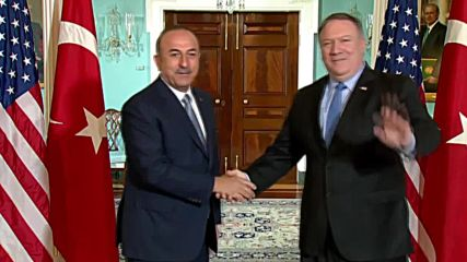 USA: Pompeo and Turkish FM Cavusoglu meet in Washington DC