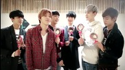 B.a.p - White Day Message to Baby