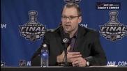 Dan Bylsma говори за финала на Stanley Cup