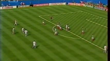 Футбол Мексико - България 1994 - Първо полувреме - Част 2/5 (високо качество)