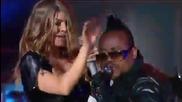 Луд Концерт на Black Eyed Peas - The Time ( Dirty Bit) [ M T V World Stage 2011]