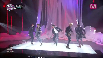 [131010] Shinee - Everybody @ M!countdown Comeback Stage
