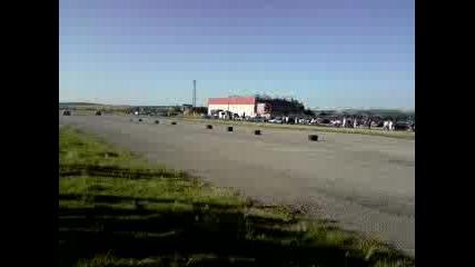26.07.2009 Хонда Сивик (черна) - Хонда Сивик (синя)