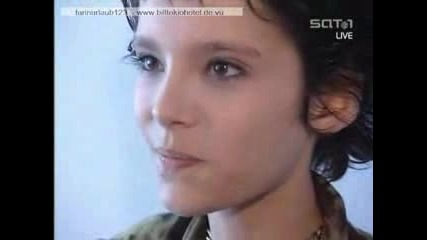 Bill From Tokio Hotel At An Interview 2001