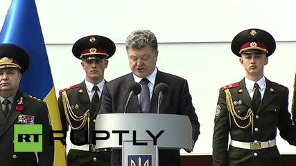 Ukraine: The victory of Russia in WWII, without Ukraine, is a myth - Poroshenko