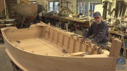 Изработване на дървена, плоскодънна лодка. Епизод- 28