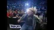 Edge Spears Rey Mysterio On Smackdown
