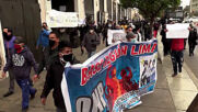 Peru: Scuffles erupt at demo for pension entitlement in Lima