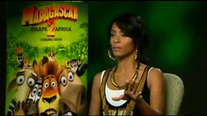Jada Pinkett Smith Madagascar 2 Interview