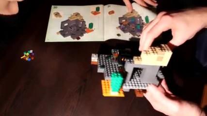 Малко Зомби И Lego Minecraft Dungeon