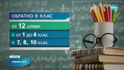 Училищата в страната отново отварят врати