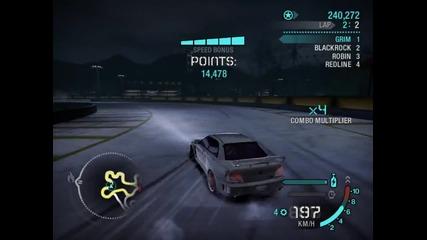 Need for speed Carbon №4 - Subaru-то не издържа[виж описанието]