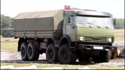 Руснаци тестват военната си техника 2014!