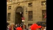 Държавните служители в Испания продължават с протестите