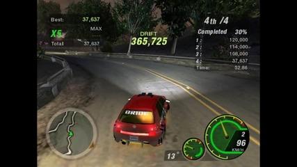 Need For Speed Undergorund 2 - Дрифт с Голфо 3