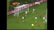 Испания - Португалия 1:0 David Villa