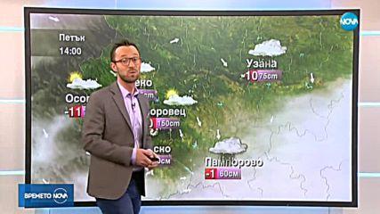 Прогноза за времето (11.01.2019 - централна емисия)
