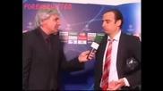 Интервю със Димитър Бербатов след края на мача със Арсенал